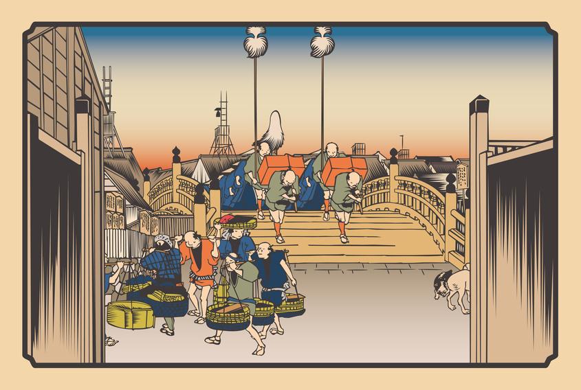 江戸時代の商人