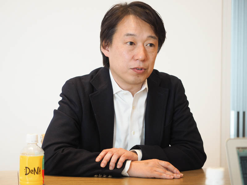 DeNA代表取締役社長兼CEO守安功氏