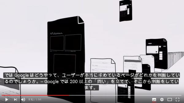 ではGoogleはどうやって、ユーザーが本当に求めているページがどれかを 判断しているのでしょうか。